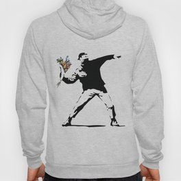 Banksy Flower Thrower Hoody
