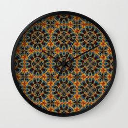 Tapestry pattern Wall Clock