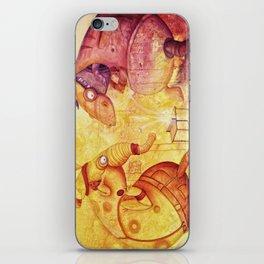 the unbelievable tabletennis- match of doom iPhone Skin