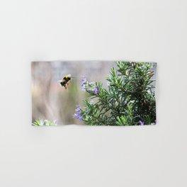 bumble bee flight Hand & Bath Towel