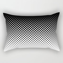 Halftone Gradient Rectangular Pillow
