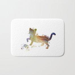 Cat art Bath Mat