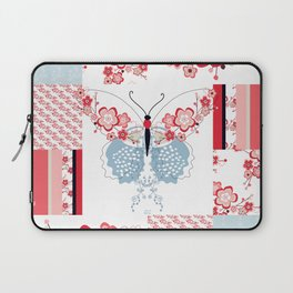 Cherry Blossom Butterfly Collection Laptop Sleeve