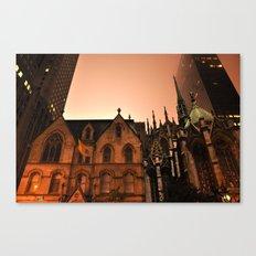 Gotham Church Canvas Print