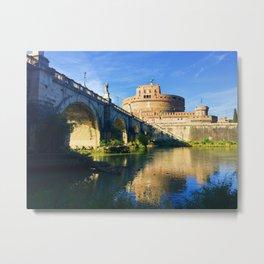 Castel Sant' Angelo, Rome Metal Print