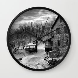 Costello's Mill Wall Clock