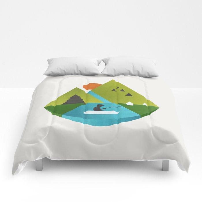 Fishing Trip Comforters