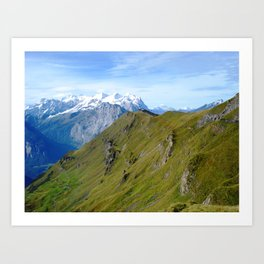 High Altitude Art Print