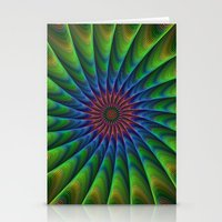 fractal Stationery Cards featuring Fractal by David Zydd