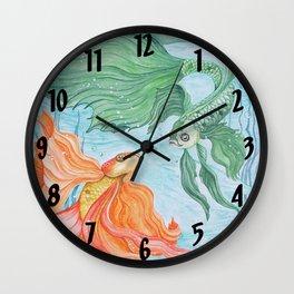 Betta Dance Wall Clock
