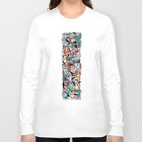 totem Long Sleeve T-shirts featuring ToTem by Mister Phil
