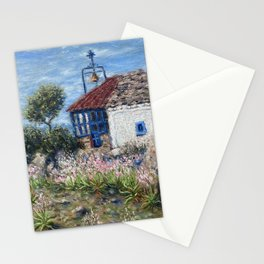 Chapel of Apostle Andrew in Aegina Greece Stationery Cards