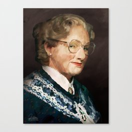 Mrs. Doubtfire Canvas Print