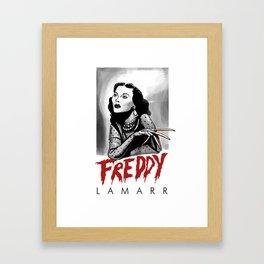 Freddy Lamarr Framed Art Print