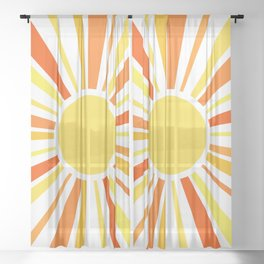 Let the sunshine in Sheer Curtain