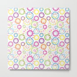 Cute Colors Metal Print