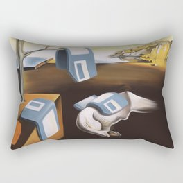 Persistence of 1.44 MB of Memory Rectangular Pillow