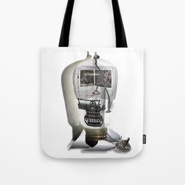 Tie down the story Tote Bag