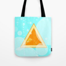 Orange Seltzer Tote Bag