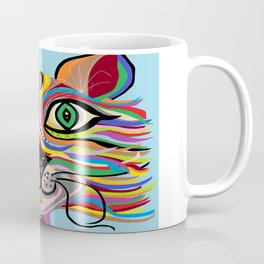 Grinning Cat Coffee Mug