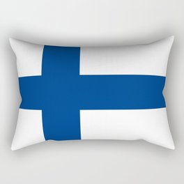 Flag of Finland Rectangular Pillow