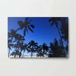 Palm Gardens Metal Print