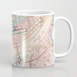 Vintage Map of Cincinnati OH (1868) Coffee Mug