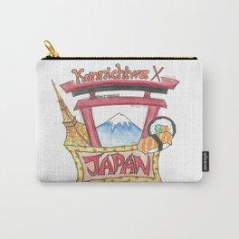 Japan Konnichiwa Carry-All Pouch