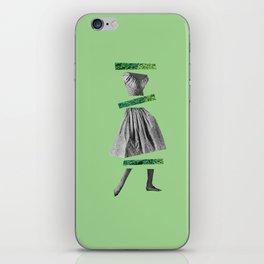 Girly Green iPhone Skin