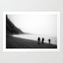 Lost Coast Art Print
