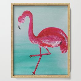 Frank the Flamingo Serving Tray