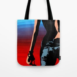 Desert Highway Tote Bag