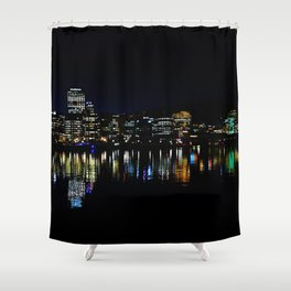 Wellington City Scape Shower Curtain