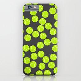 Cute Tennis Balls Pattern iPhone Case