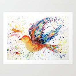 Wings III Art Print