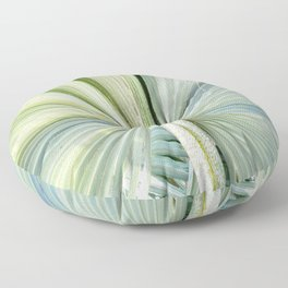 Fanned Palms Floor Pillow