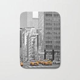 NYC - Yellow Cabs - Police Car Bath Mat