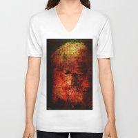 marc johns V-neck T-shirts featuring Marc Aurèle's murder by Ganech joe