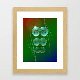 Opalescent Sanctuary Framed Art Print