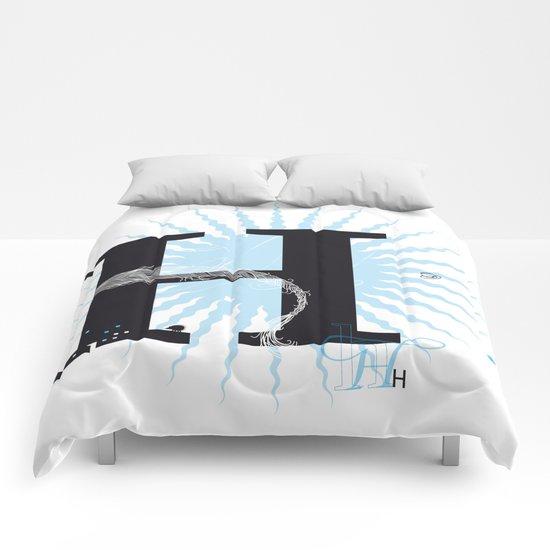 H like Heidi, Harry, Halloween… Comforters