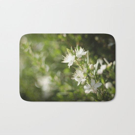 Bright Day, Tiny Flower Bath Mat