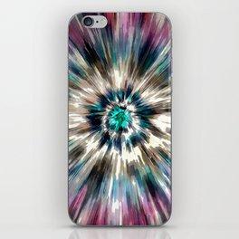 Starburst Tie Dye iPhone Skin