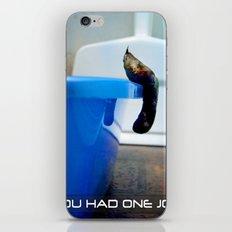 Uncooperative Cat iPhone & iPod Skin