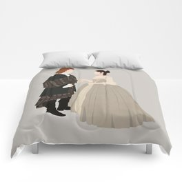Outlander, Jamie and Claire Comforters