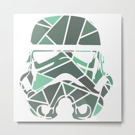 Mosaic Stormtrooper Metal Print