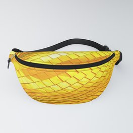 Gold dragon skin Fanny Pack