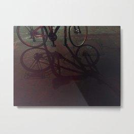 Shadow Metal Print