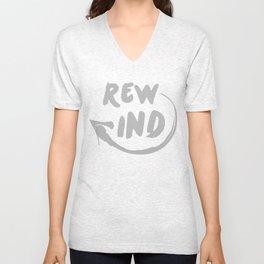 Rewind Unisex V-Neck
