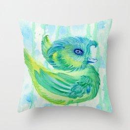 Rainduck Throw Pillow