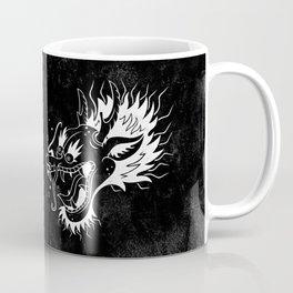 Drunken Dragon - B&W Coffee Mug